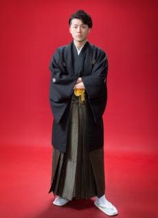 成人式・男子羽織袴レンタル
